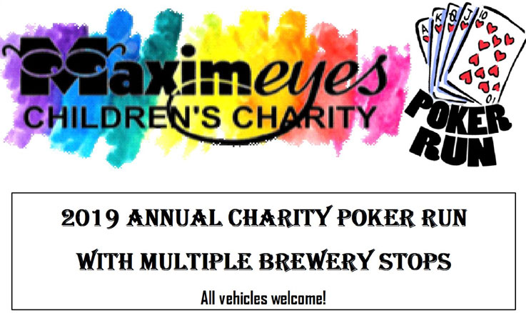 2019 MaximEyes Children's Charity Poker Run 			Tampa,FL