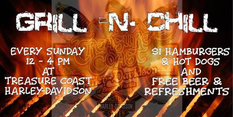 H-D Treasure Coast Grill N Chill Stuart,FL