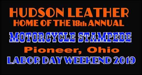 18th Annual Motorcycle Stampede 2019 Pioneer,OH