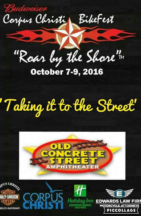 Corpus Christi Bikefest - Roar by the Shore Corpus Christi,TX